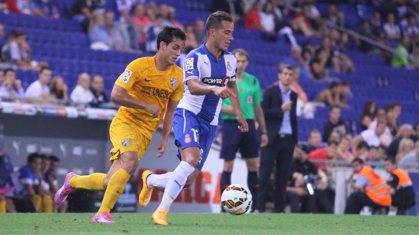 Duda rescata un punto para el Málaga