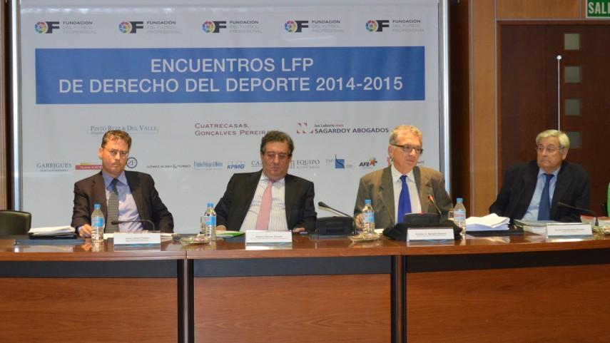 Regresan los Encuentros LFP de Derecho del Deporte