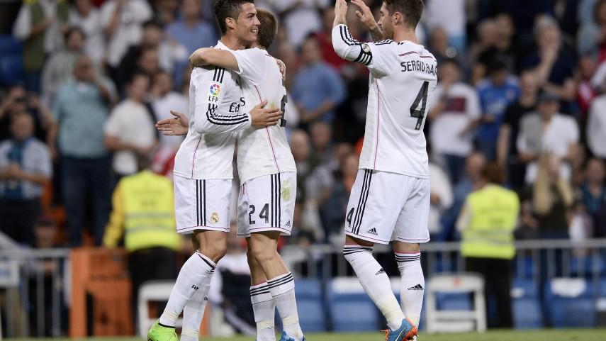 Cristiano Ronaldo lidera la abultada victoria del Real Madrid