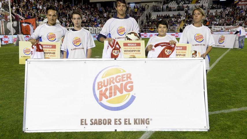 LFP y Burger King cumplen el sueño de cinco aficionados al fútbol