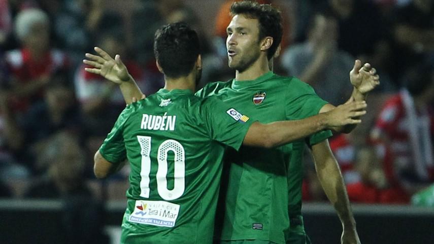 Rubén stops Granada
