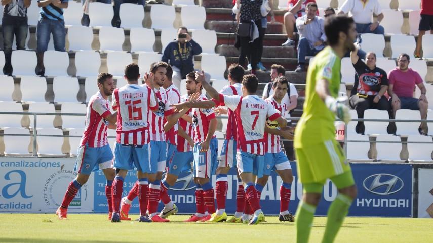 El Lugo consigue la victoria a base de fe