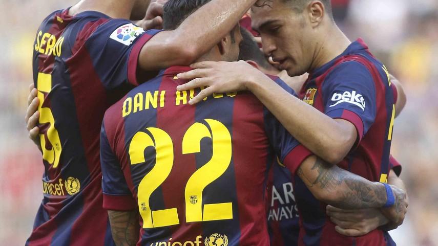 Barcelona continue winning ways