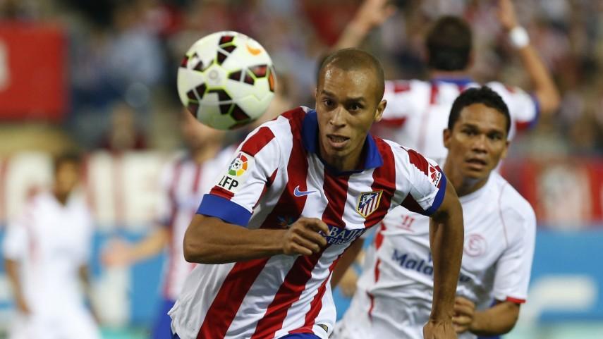Miranda, lesionado en el Atlético