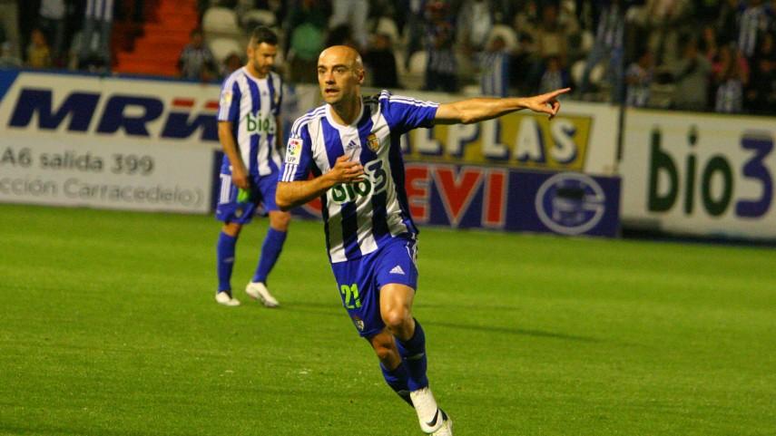 Pablo Infante sentencia ante el Albacete