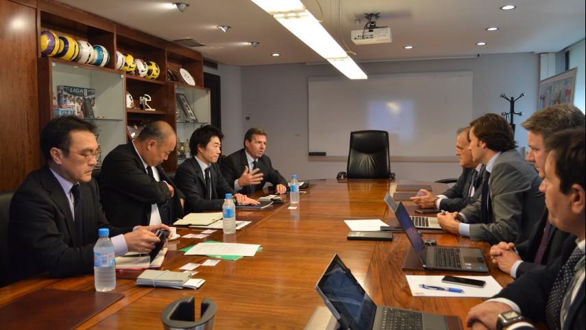 La LFP recibe la visita de la Liga Japonesa