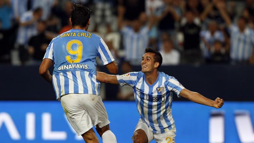 El Málaga remonta y vuelve a vencer