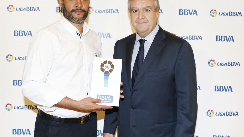 Premios BBVA: Nuno, mejor entrenador del mes de septiembre