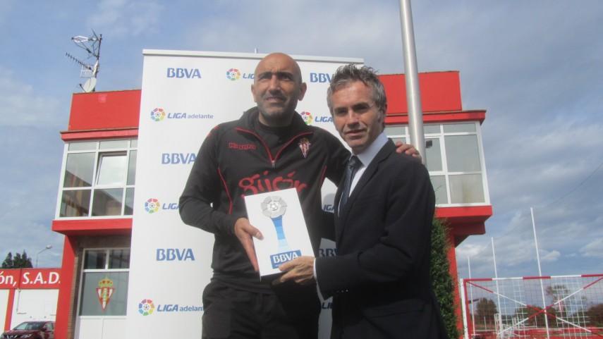 Premios BBVA: Abelardo, mejor entrenador de la Liga Adelante en septiembre