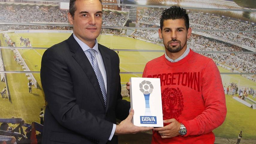 Premios BBVA: Nolito, mejor jugador de la Liga BBVA en septiembre
