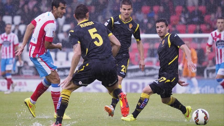 Willian José rescata un punto para el Zaragoza