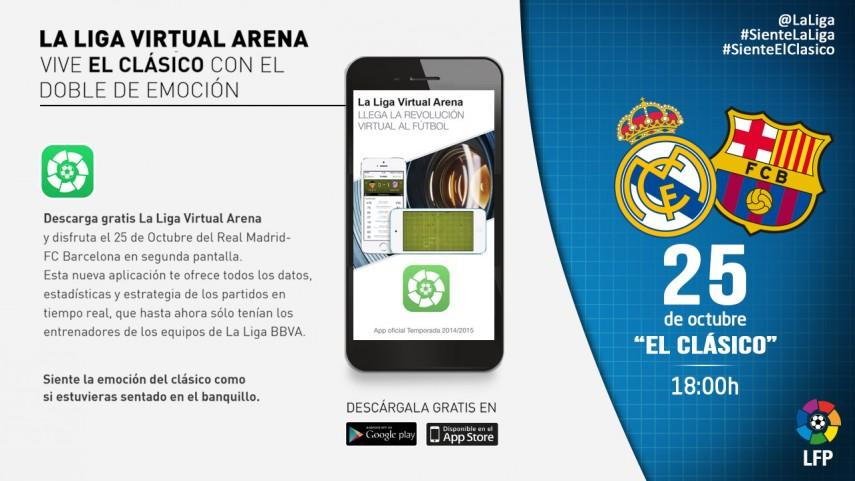 Vive el clásico con La Liga Virtual Arena