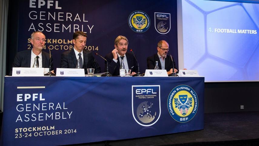 La EPFL celebró su Asamblea General en Estocolmo