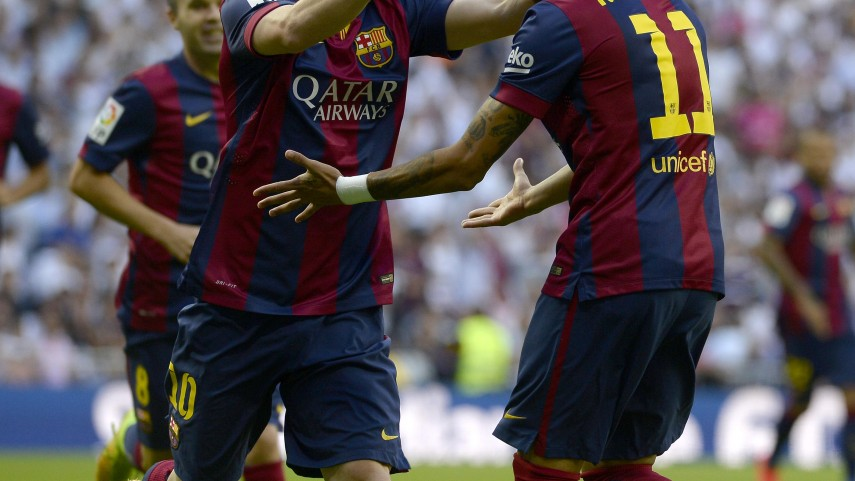 Seis delanteros de la Liga, nominados al 'FIFA FIFPro World XI 2014'