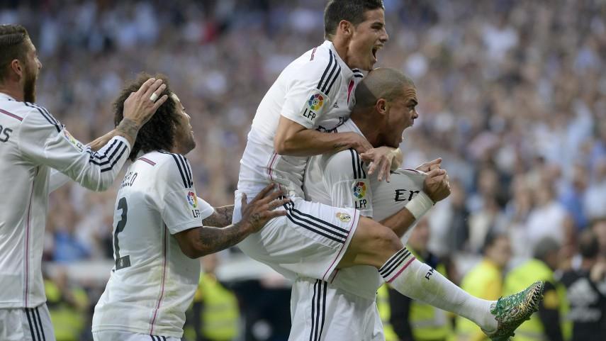 La pegada del Real Madrid decide el clásico