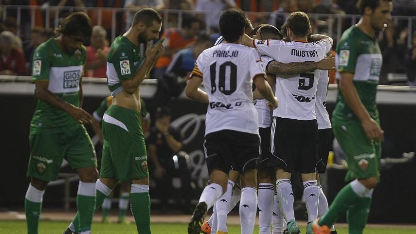 El Valencia da un golpe de autoridad