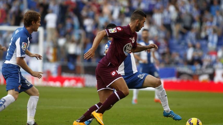 Poco acierto del Espanyol ante el Deportivo