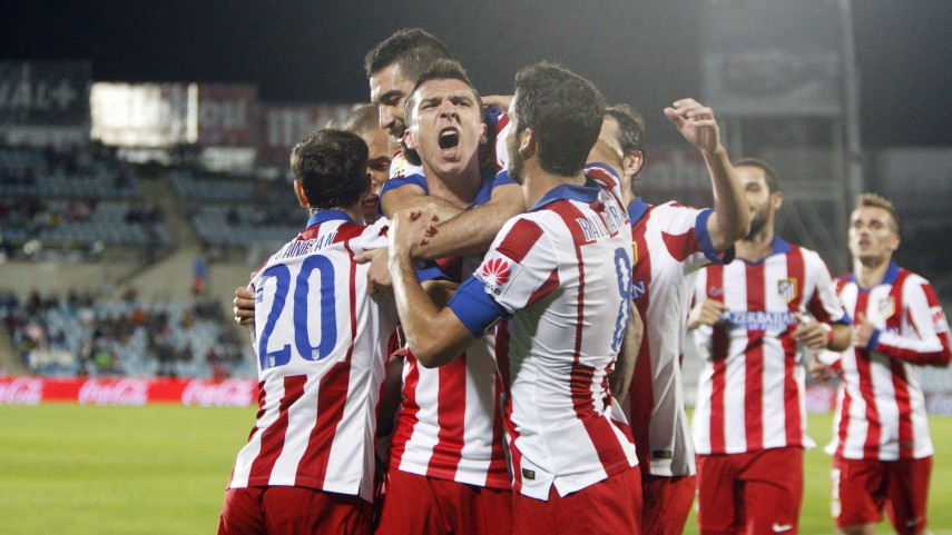 El Atlético se lleva el derbi ante el Getafe