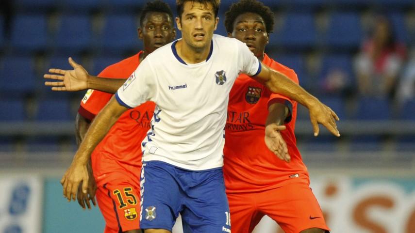 Aitor Sanz, renovado con el Tenerife hasta 2017