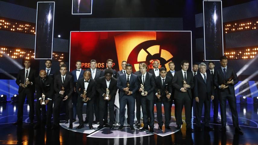 Conoce todos los premios de la 'Gala de los Premios LFP 2014'