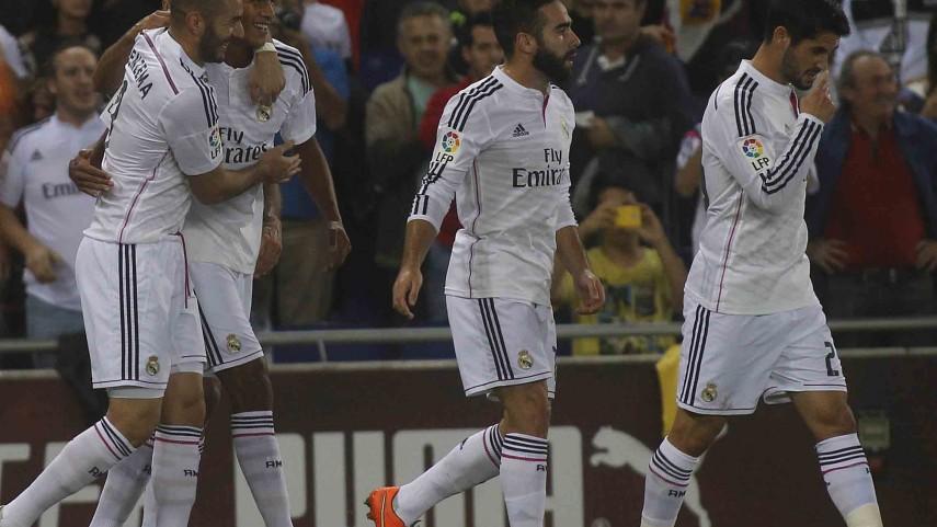 Real Madrid y Sevilla vencen en sus compromisos coperos