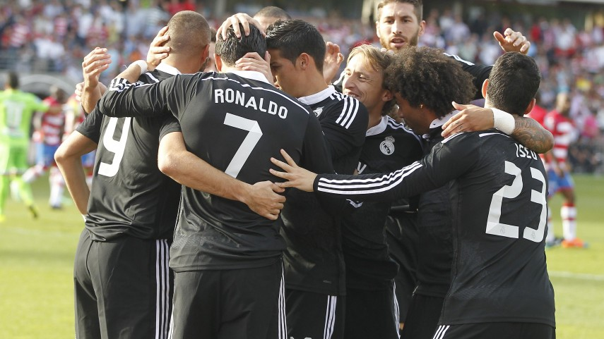 Real Madrid seal their seventh consecutive win