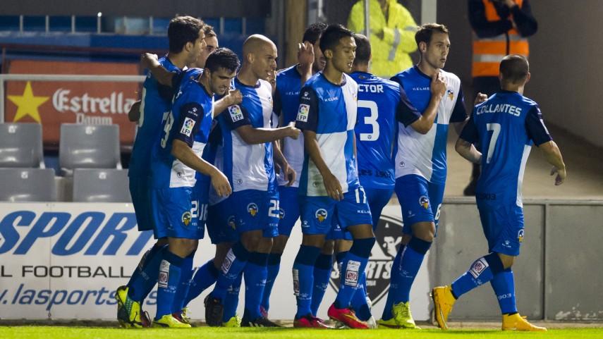 El Sabadell se impone en la fiesta del gol