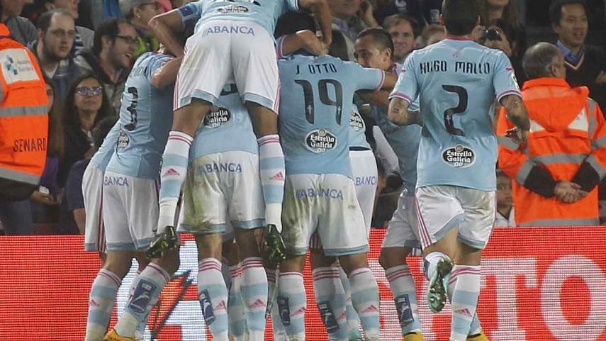 El Barcelona sucumbe ante el Celta