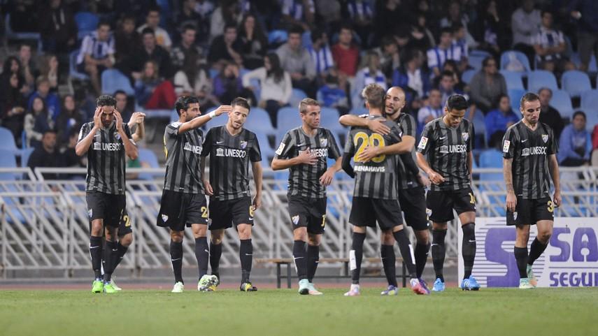 El Málaga sigue 'in crescendo'