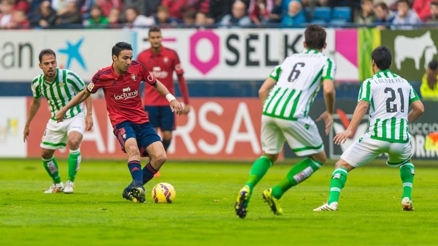 Tributo al fútbol en El Sadar