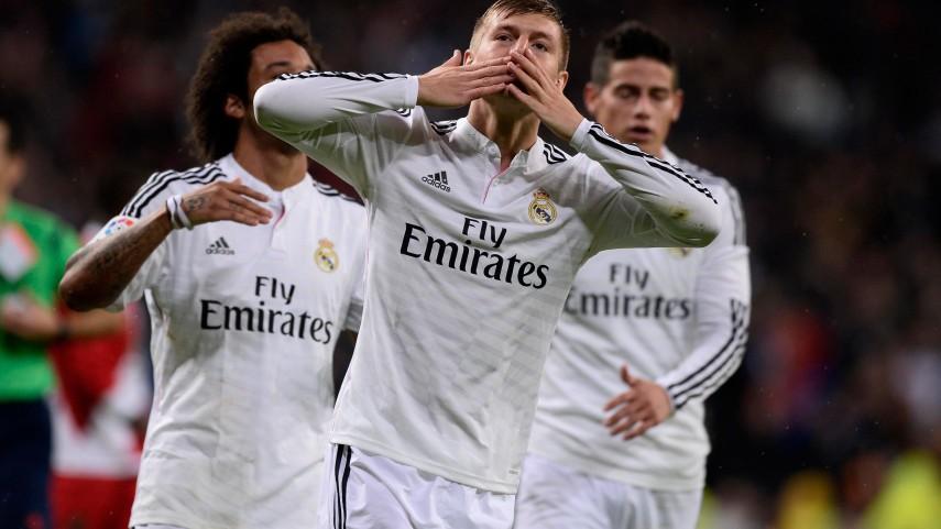 El Real Madrid continúa intratable en la Liga BBVA