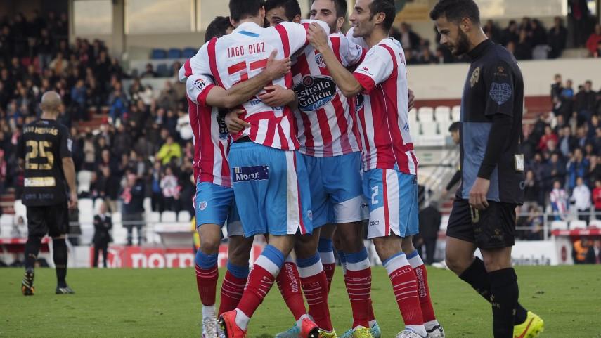 El Lugo se da una alegría ante el Sabadell