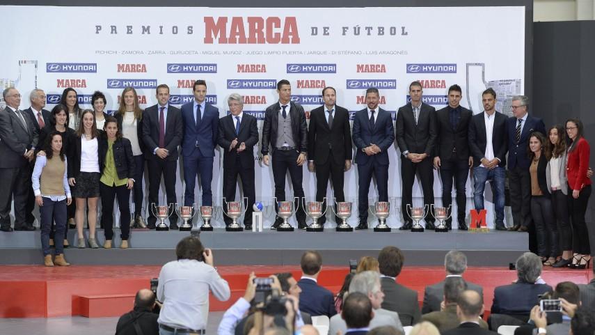 El diario Marca entregó sus premios anuales