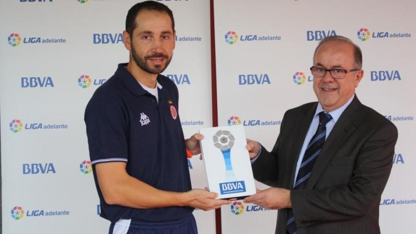 Premios BBVA: Pablo Machín, mejor entrenador de la Liga Adelante en octubre