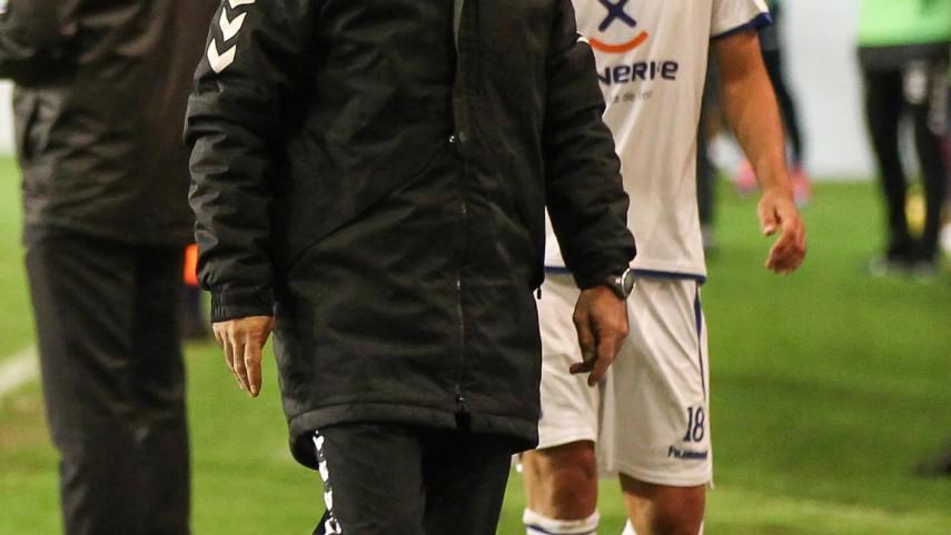 Álvaro Cervera, destituido como técnico del Tenerife