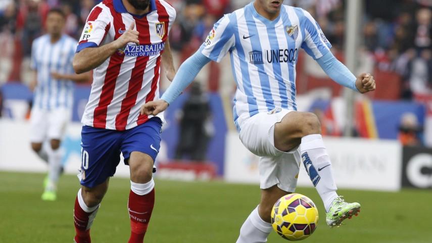 El Málaga pierde a Juanmi