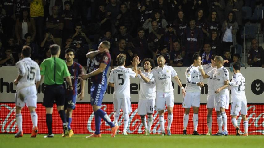 Exigente victoria del Real Madrid en Ipurua