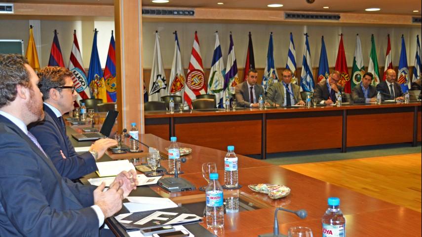 La LFP reúne a los directores de seguridad de los clubes profesionales
