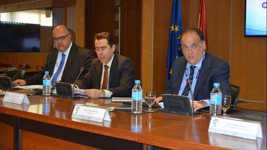 Reunión del comité de asesores jurídicos de la LFP