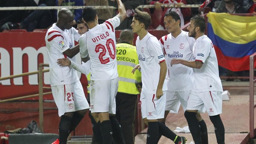 El Sevilla no da opción al Granada