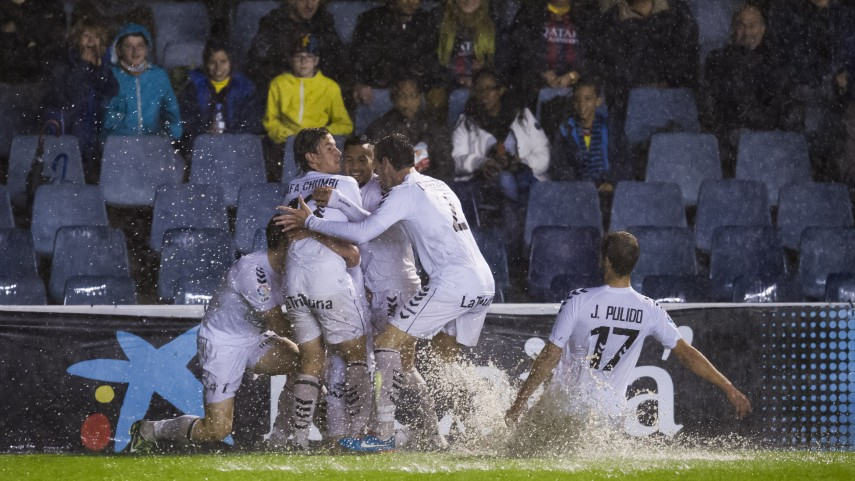Triunfo 'in extremis' para el Albacete