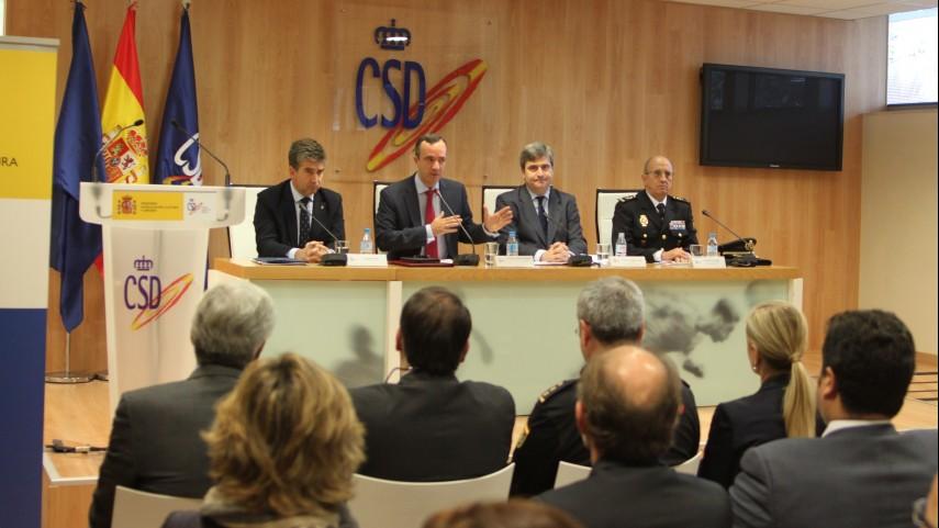 La LFP participó en la reunión de urgencia de la Comisión Antiviolencia