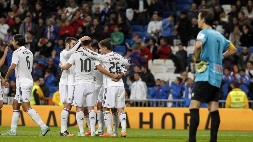 El Real Madrid, primer clasificado para octavos de la Copa del Rey