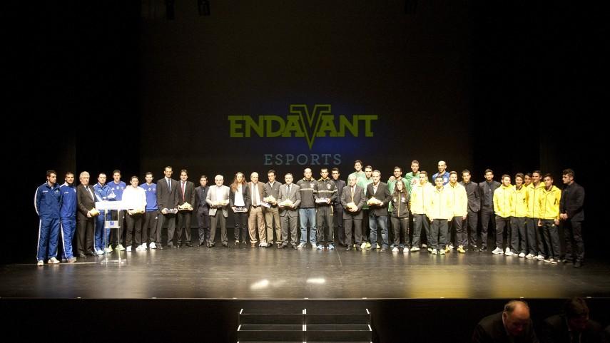 El Villarreal celebró la I Gala Endavant Esports