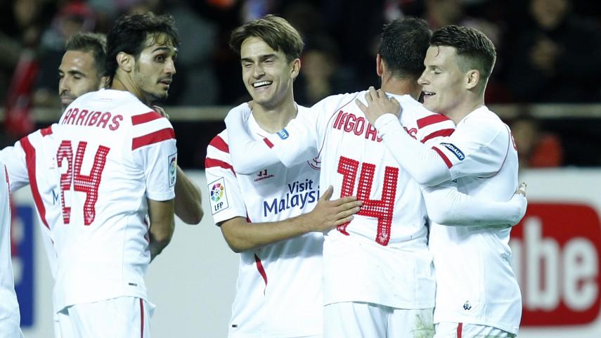 El Sevilla, clasificado para los octavos de la Copa del Rey
