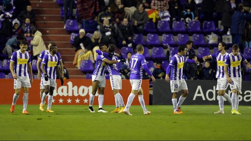El Valladolid gana el pulso al Recreativo