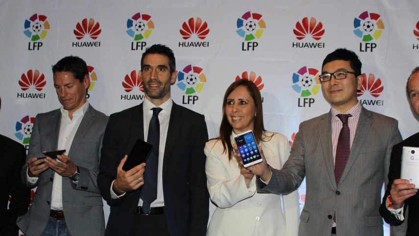 La Liga renueva su contrato con Huawei