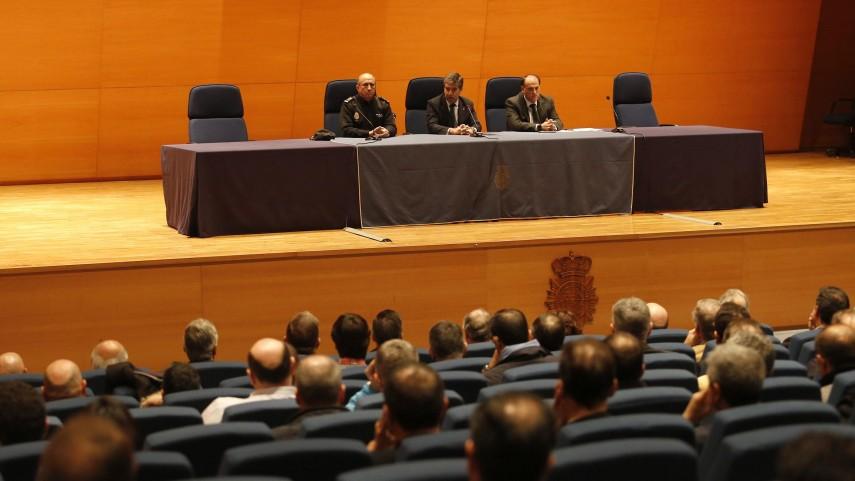 Reunión para coordinar medidas en la lucha contra la violencia en el fútbol
