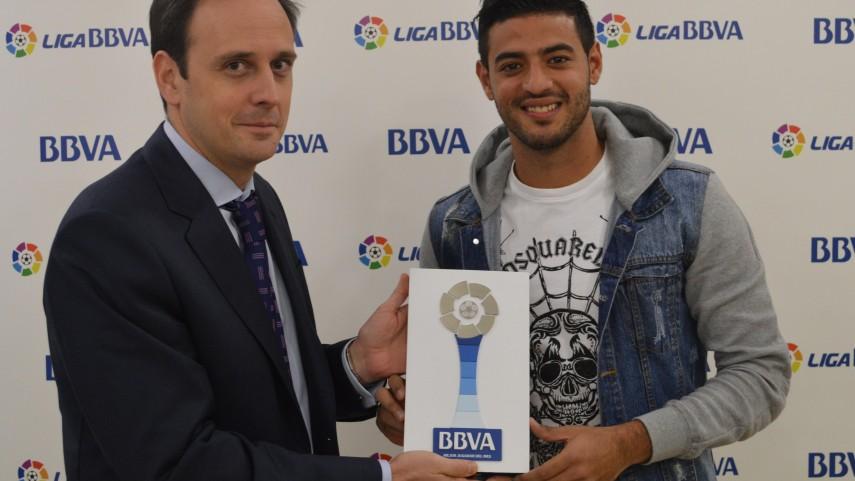 Premios BBVA: Carlos Vela, mejor jugador de la Liga BBVA en noviembre