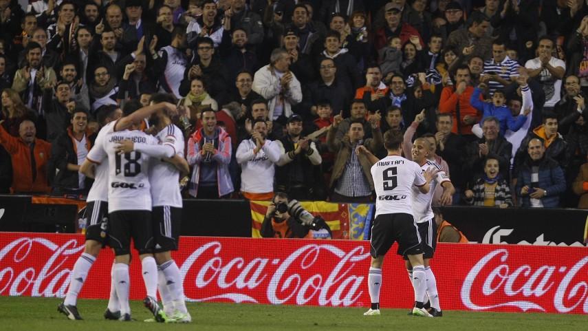 El Valencia no perdona ante el Rayo